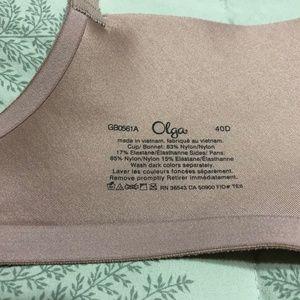 Olga Intimates & Sleepwear - Olga No Side Effects Full-Fig Bra GB0561A Sz 40D